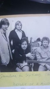 Somewhere in Scotland with Frankie Miller circa 1981